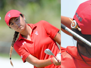 Gabby Parker always wears her Native American hair pin in her braid. or it's always on her bag when she plays.