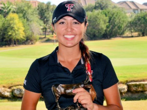 Texas Tech's Gabby Barker Wins the Individual Title at the Betsy Rawls Longhorn Invitational.