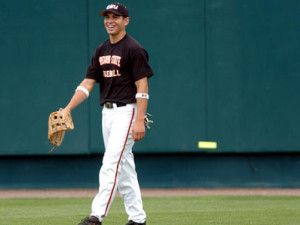 Jacoby Ellsbury's 2005 Oregon State Baseball squad to be inducted into OSU Hall of Fame. FILE PHOTO