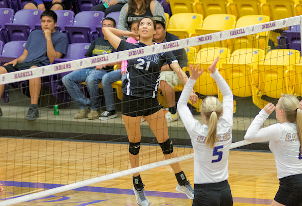 Tamara Yazzie (Navajo) Closes Out Home Career for Haskell ...