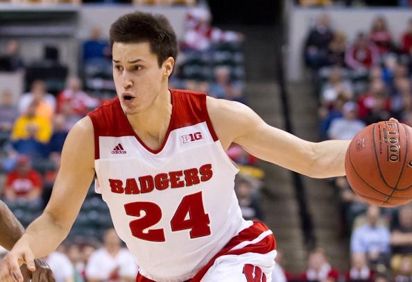 Bronson Koenig (Ho-Chunk) and Wisconsin Badgers begin NCAA ...