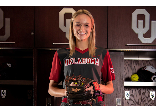super popular f081d 42707 Joining Oklahoma Softball is Macy McAdoo (Choctaw), an all ...