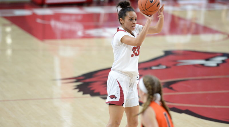 Chelsea Dungee (Cherokee) Leads Arkansas with 15 points ...